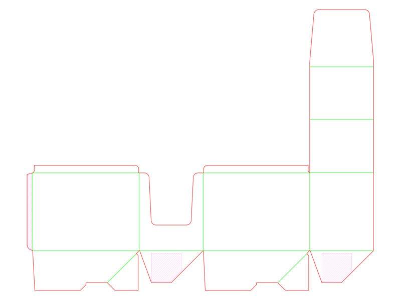 Opakowanie typu display - siatka